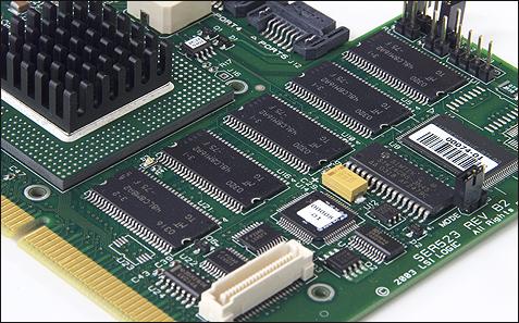 SATA RAID 2005 review: LSI MegaRAID SATA 150-6 geheugen