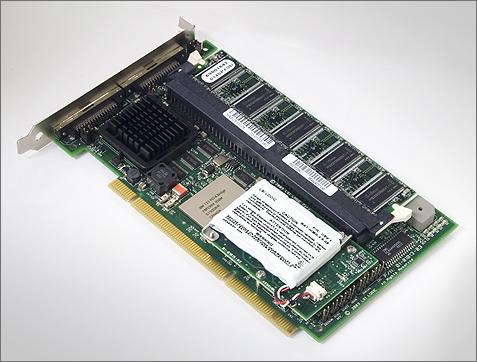 LSI MegaRAID SCSI 320-2X 128MB