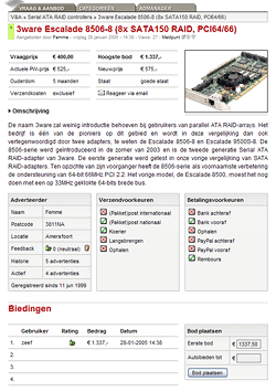 Vraag & Aanbod 2.0 screenshot