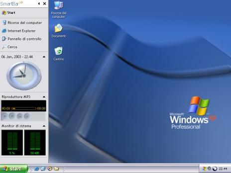 SmartBarXP screenshot