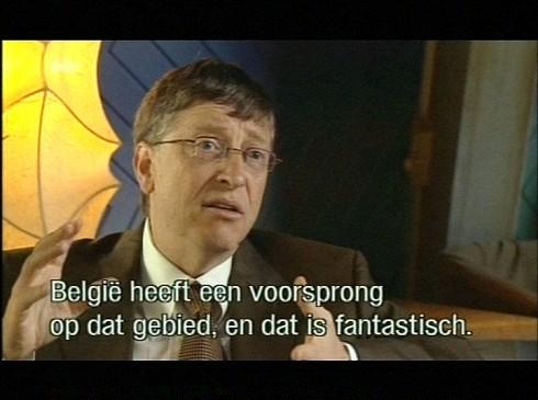 Bill Gates over elektronische identiteitskaart Belgi�