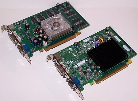 nVidia GeForce 6200 32-TC/128MB & GeForce 6200