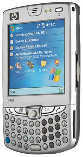 HP iPaq hw6500 / iPaq Mobile Messenger