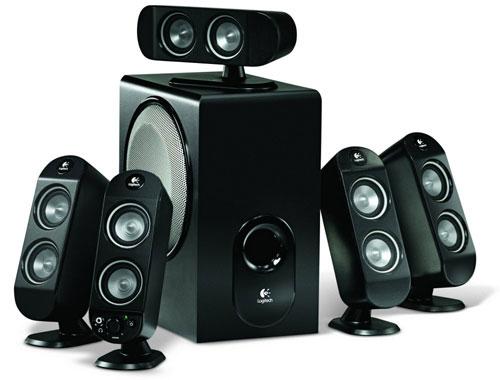Logitech X-530 speakerset