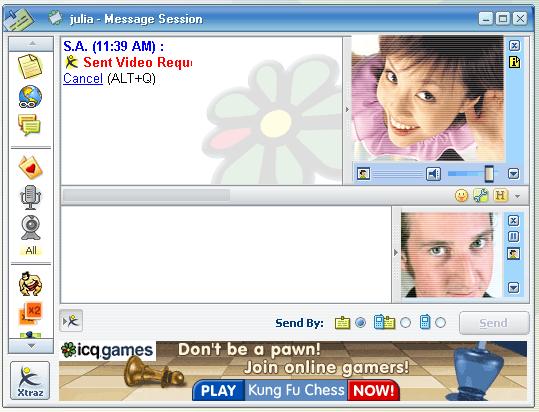 ICQ 5 Videomessaging