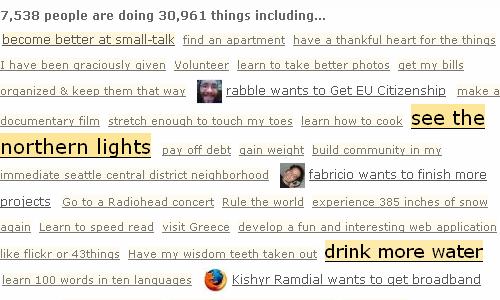 screenshot 43 things
