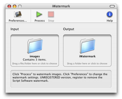 iWatermark screenshot