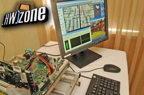 Intel Napa-platform (Yonah, Centrino, demo-opstelling)