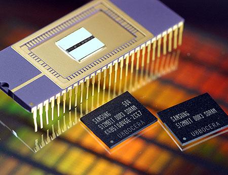 Eerste 512Mbit Samsung DDR3-geheugenchips
