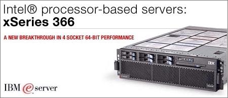 IBM eServer xSeries 366 plaatje