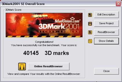 3DMark-score onbekende ATi-kaart