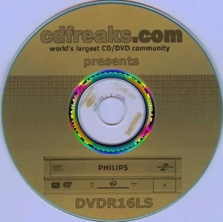 CD beschreven met LightScribe