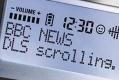DAB radio display BBC News