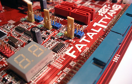 Abit Fatal1ty AN8 LED-display