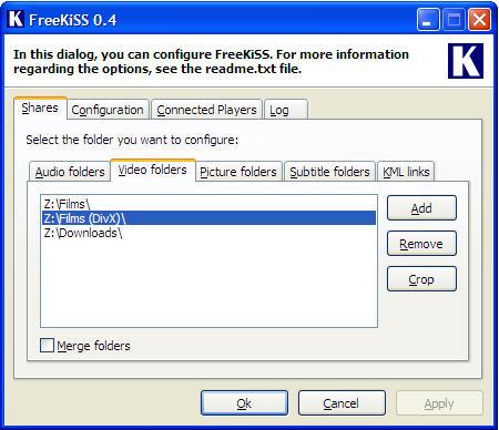 FreeKiSS 0.4 screenshot