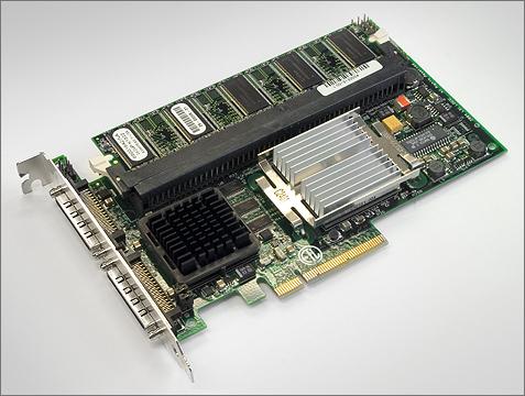 LSI Logic MegaRAID SCSI 320-2E PCIe SCSI RAID