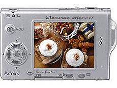 Sony Cyber-shot DSC-T7 - achterkant