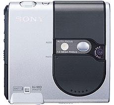 Sony Hi-MD MZ-DH10P - voorkant