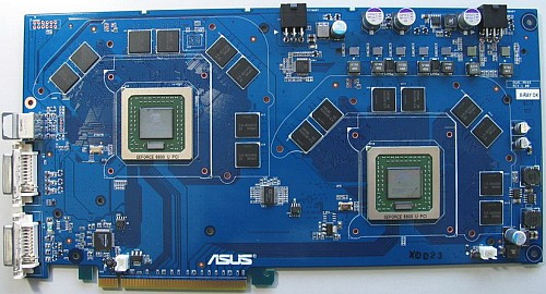 Asus dual-GeForce 6800 Ultra SLI prototype