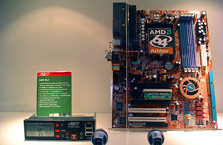Abit nForce4 SLI-moederbord
