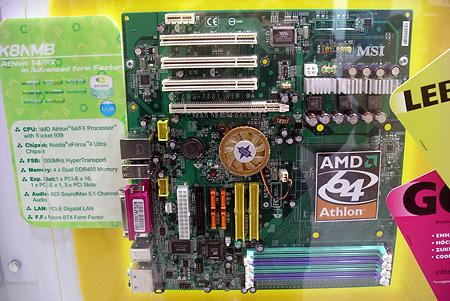 MSI Athlon 64 BTX-moederbord