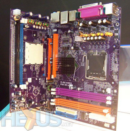 ECS AMD- en Intel-moederbord 1