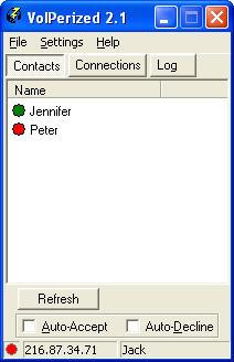 VoIPerized 2.1 screenshot