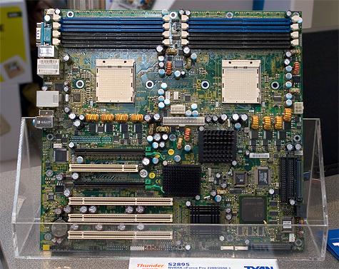CeBIT 2005: Tyan Thunder K8WE