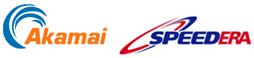 Logo's Akamai en Speedera Networks