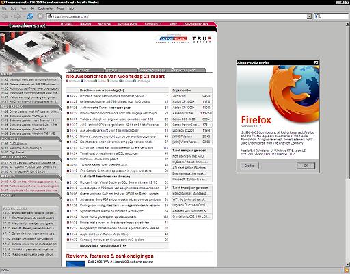 Mozilla Firefox 1.0.2 (klein)