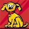 Verbaasde Microsoft-hond