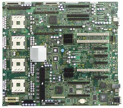 Intel E8500 Twin Castle 4-way Xeon MP moederbord