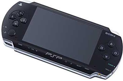PSP onder een hoek