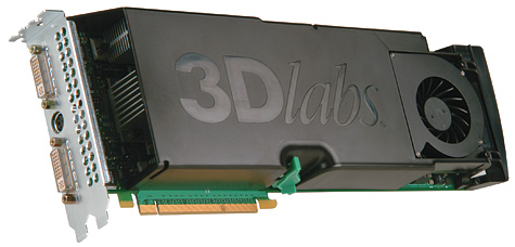 3Dlabs Wildcat Realizm 800