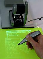 GSM met projector