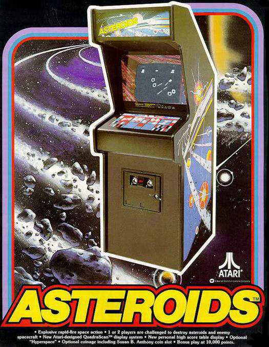 Atari's Asteroids 1979
