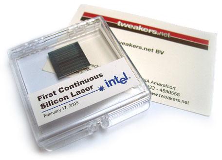 Intel silicon laser