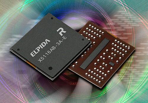Elpida 512Mbit 3,2GHz XDR-geheugenchip
