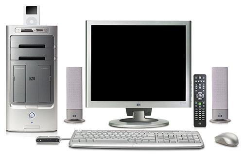 HP Media Center m7000 met iPod-docking