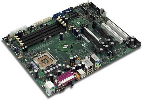 nForce4 SLI Intel Edition referentiemoederbord