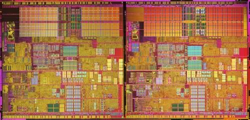 Intel Pentium 4 8xx 'Smithfield' die