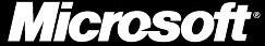 Microsoft logo (zwart)