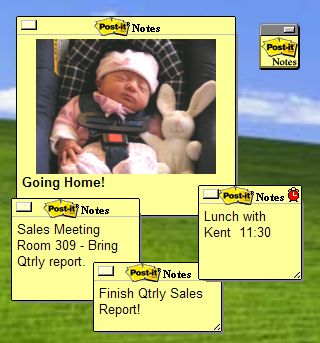 Microsoft Partnet Pack - Post-It Software Notes