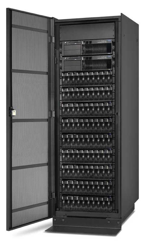 Brute NAS storage-toren van IBM