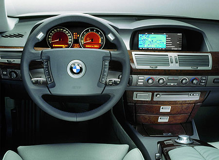 Microsoft-navigatiesysteem in BMW