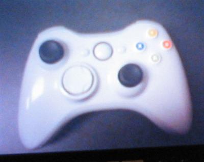 prototype Xbox2 controller? draadloos, bovenkant