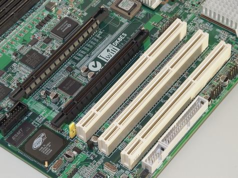 Iwill DK8ES PCI Express en PCI-X slots