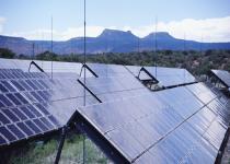 Zonnecellenfarm