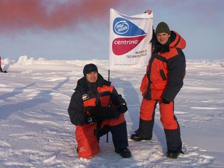 Wireless op de Noordpool