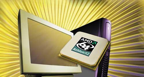 AMD Athlon 64 X2 (500px - computer achtergrond)